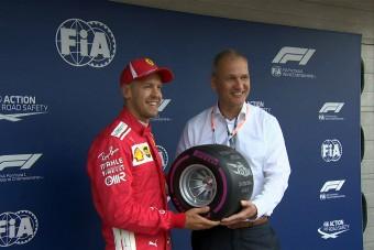 F1: Vettel mindent kipréselt magából