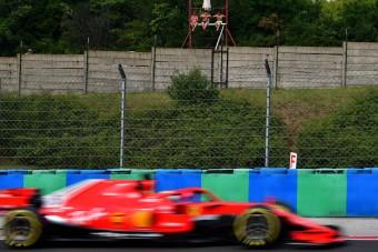 F1: Vettel az élen, Hamilton szenvedett az időmérő előtt
