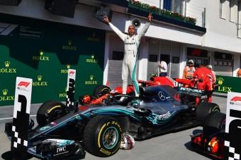 F1: Bottas blokkolt, Hamilton győzött a Hungaroringen