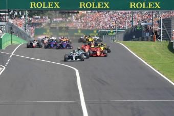 F1: Óriásgaléria a Hungaroringről