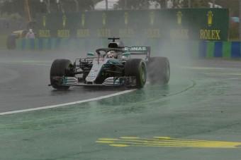 F1: Eső, káosz, Hamilton-pole a Hungaroringen
