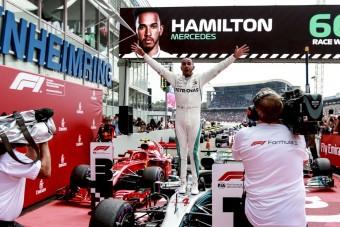 F1: Nem vették el Hamilton futamgyőzelmét