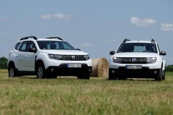 Az élet szívó 1,6-ossal - Dacia Duster