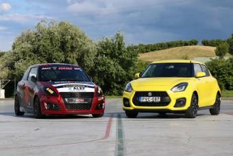 Mit tud a Suzuki Swift, ha versenyautót csinálnak belőle?