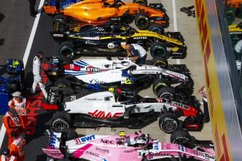 F1: Nincs többé középmezőny