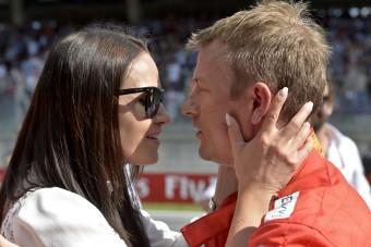 F1: Räikkönen neje beszólt Hamiltonnak