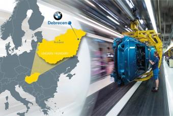 Gyárat épít a BMW Magyarországon