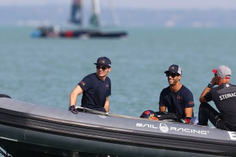 F1: Verstappenék a Balatonon jártak