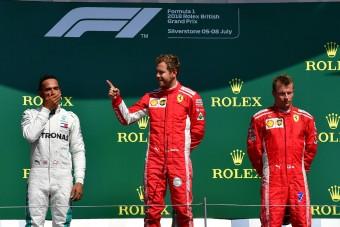 F1: Hamilton elfogadta Räikkönen bocsánatkérését