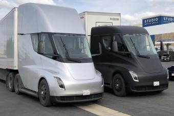 Magyarországon tesztelnék a Tesla kamionokat