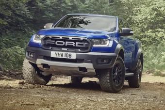 Európának készül a Ford brutális sportpickupja