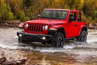 Jön a konnektoros hibrid Jeep Wrangler