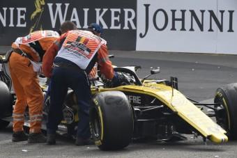 F1: Kemény büntetés Hülkenbergnek