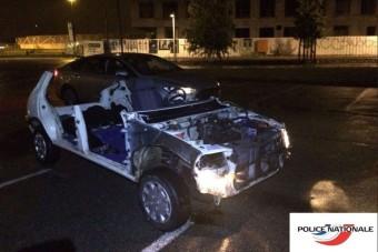 Szétdarabolt autóval fogtak meg egy 16 éves srácot