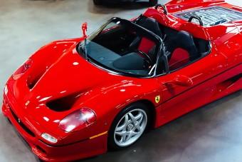 Most megkaparinthatod az első F50-es Ferrarit