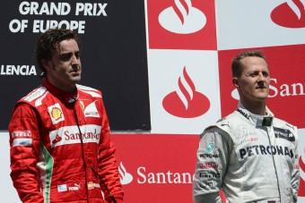 F1: Ezért nem lett Alonsóból Schumacher?