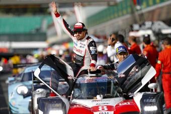 WEC: Alonso triplázott, de kizárták, oda a győzelem