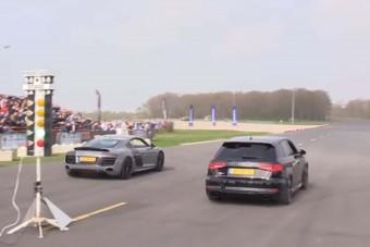 Itt tart a tudomány: az új Audi RS3 lépést tart a múlt csúcsát képviselő gépekkel