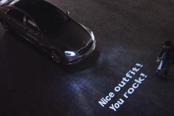 A Mercedes most megmutatja, mi az igazi fényposta