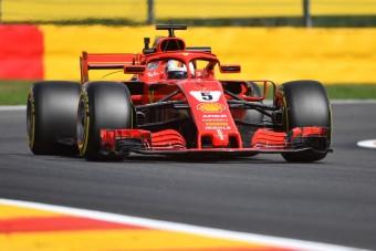 F1: Vettelé az első vér Spában