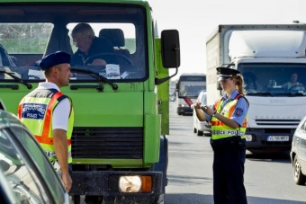 Kamionosokat fogtak a rendőrök