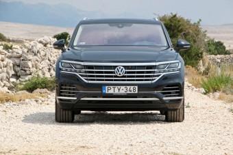 Új VW Touareg: első a harmónia
