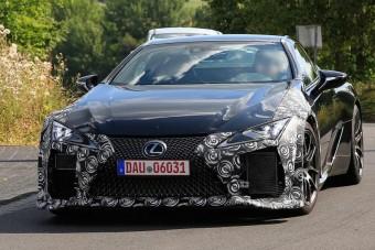 Kémfotókon a Lexus LFA méltó utódja