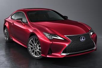 Megújult a Lexus RC, elvileg szebb lett