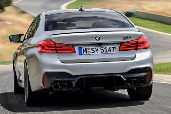 Videó: Versenypályán üvölt a BMW M5 Competition