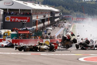 F1: A legemlékezetesebb pillanatok Belgiumból