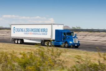 Új hidrogéncellás teherautó a Toyotától