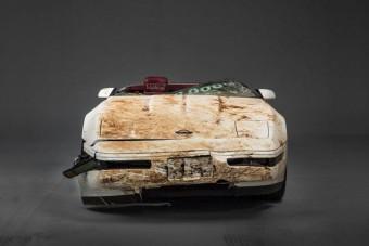Megmentették az egymilliomodik Corvette-et