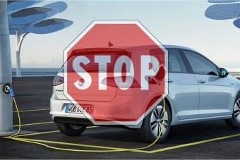 Bréking: a Volkswagen felfüggesztette az elektromos autók értékesítését