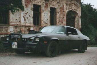 A boszniai háborúban szellemautóként szolgált egy V8-as Camaro
