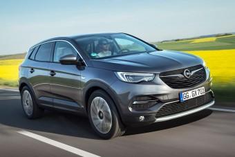 Új turbómotort kapott az Opel Grandland X