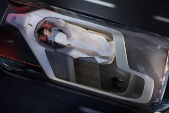 Csipkerózsika-autót épített a Volvo