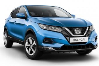 A Nissan bevezette a Technológia Bajnokai limitált kiadást a kategóriateremtő Nissan Qashqai crossoverből (X)