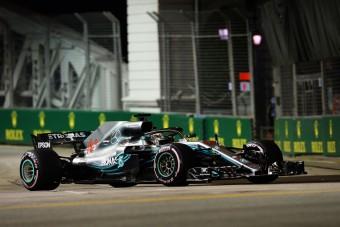 F1: Vettel hibázott, Hamilton gyors