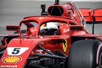 F1: Vettel az élen, trükközik a Mercedes?