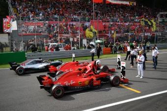 F1: Szenzációs Räikkönen-pole Monzában