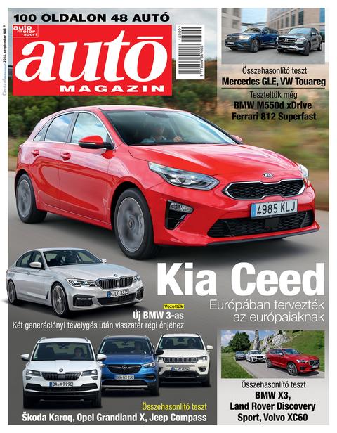Autó Magazin 2018 szeptember