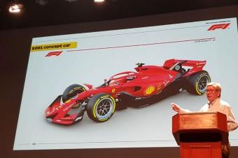 Így fest majd egy Forma-1-es autó 2021-ben