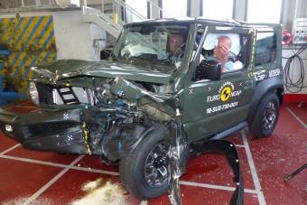 Terepen kiváló, karambolban gyenge a Suzuki Jimny