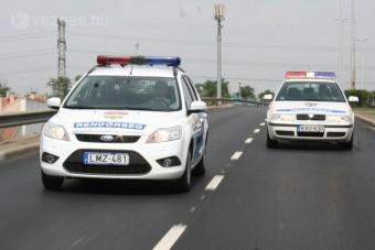 Kalapács alá kerül néhány hazai rendőrautó