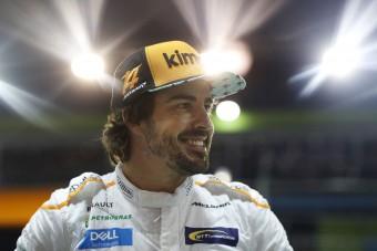 F1: Alonso örül a Q2-es kiesésnek