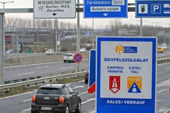 Októbertől drágább autópályázni Magyarországon