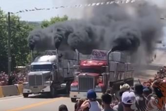 Ezek a kamionok egyenesen a pokolból érkeztek