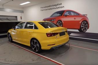 A győri Audi-gyár rejtett szegletében jártunk Gajdán Miklóssal