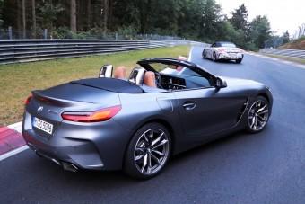 Már az új Z4-es BMW is körbefutott a Nordschleifén