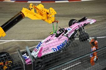 F1: Ismét balhé a Force Indiánál